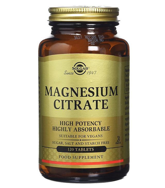 Magnesium benefits: Solgar Magnesium Citrate Tablets