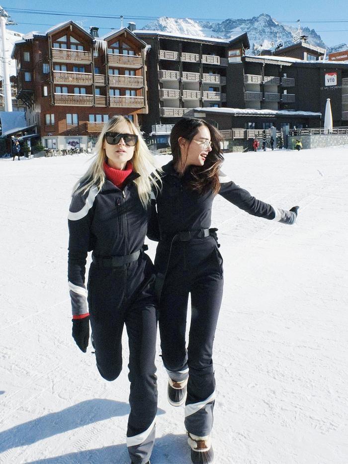 Best designer skiwear: