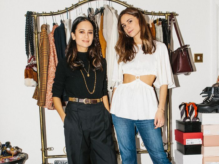 Best Wardrobes in Britain: Anna and Florrie of And Finally