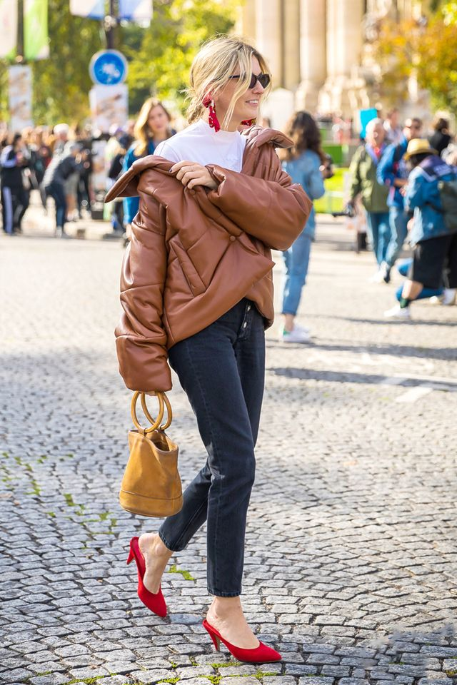 heels with jeans street style