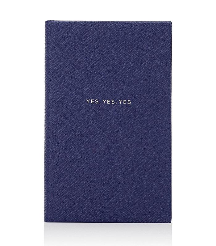 """Yes, Yes, Yes"" Panama Notebook by Smythson"