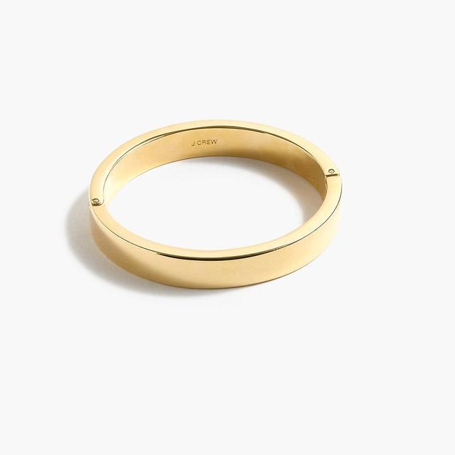 Gold-plated hinge bracelet