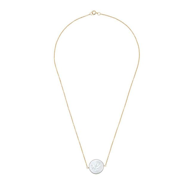 Victoria Six Single Flat Pearl Necklace
