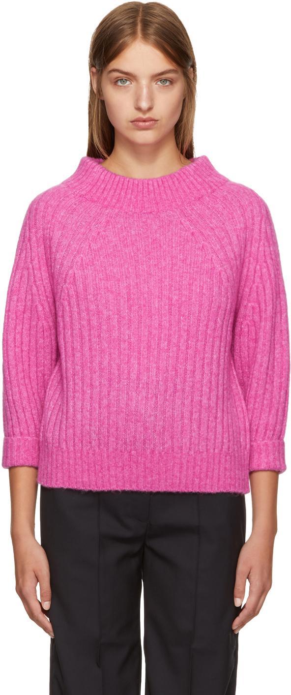 3.1 Phillip Lim Rib Knit Alpaca Sweater
