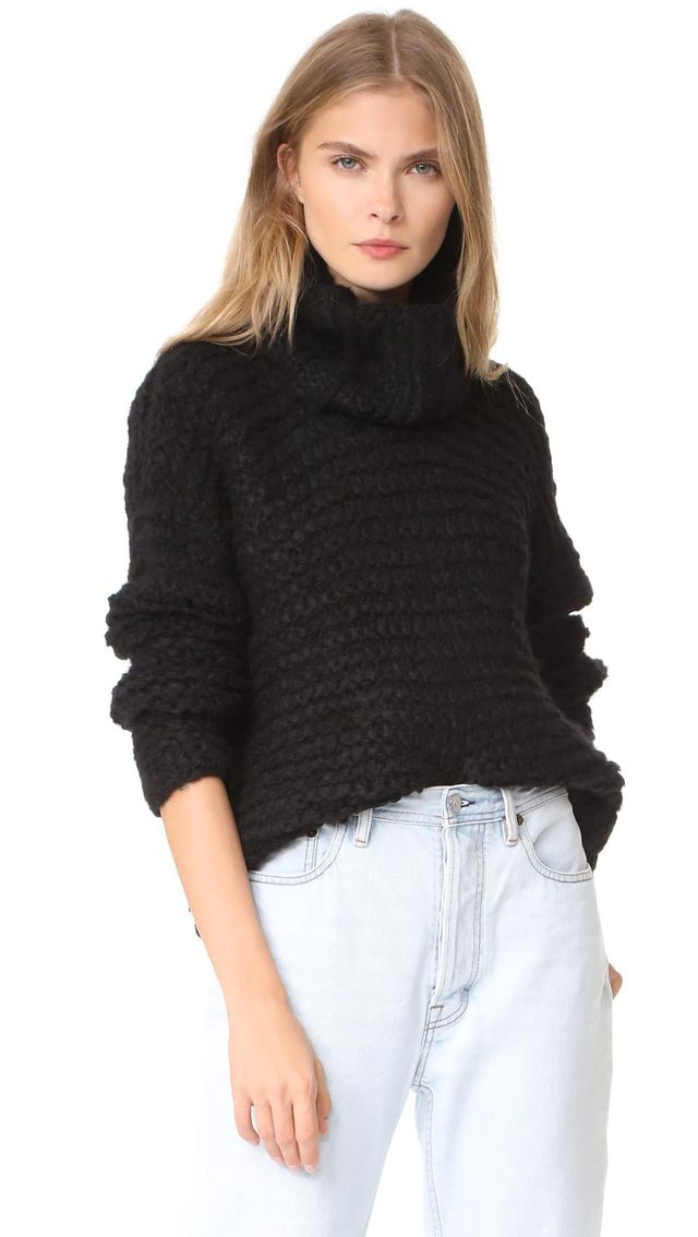 Nepenthe Alpaca Turtleneck Sweater