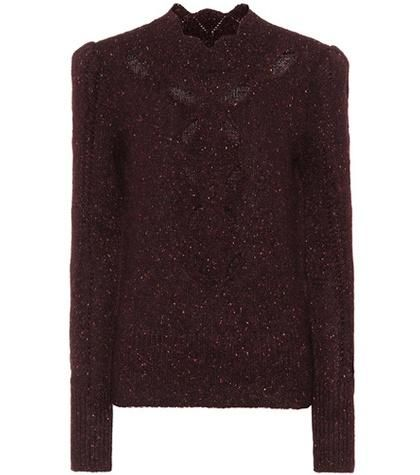 Elea alpaca-blend sweater