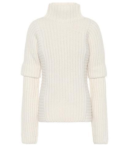 Alpaca and wool sweater