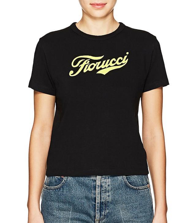 Women's thedrop@barneys: Logo Cotton Crop T-Shirt