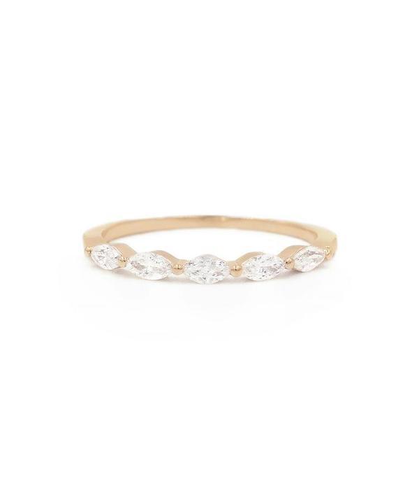 White Diamond Sun King Ring