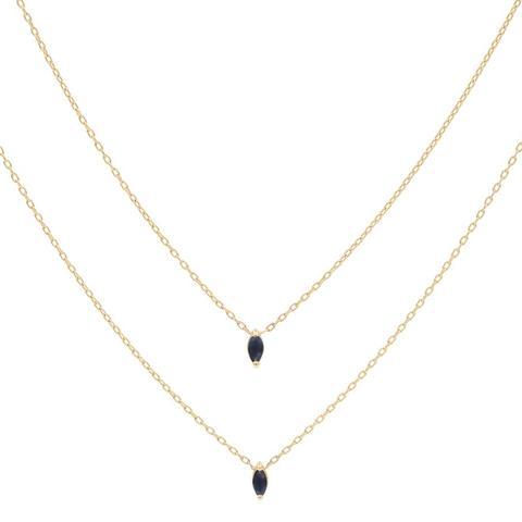 Eclipse Sapphire Necklace