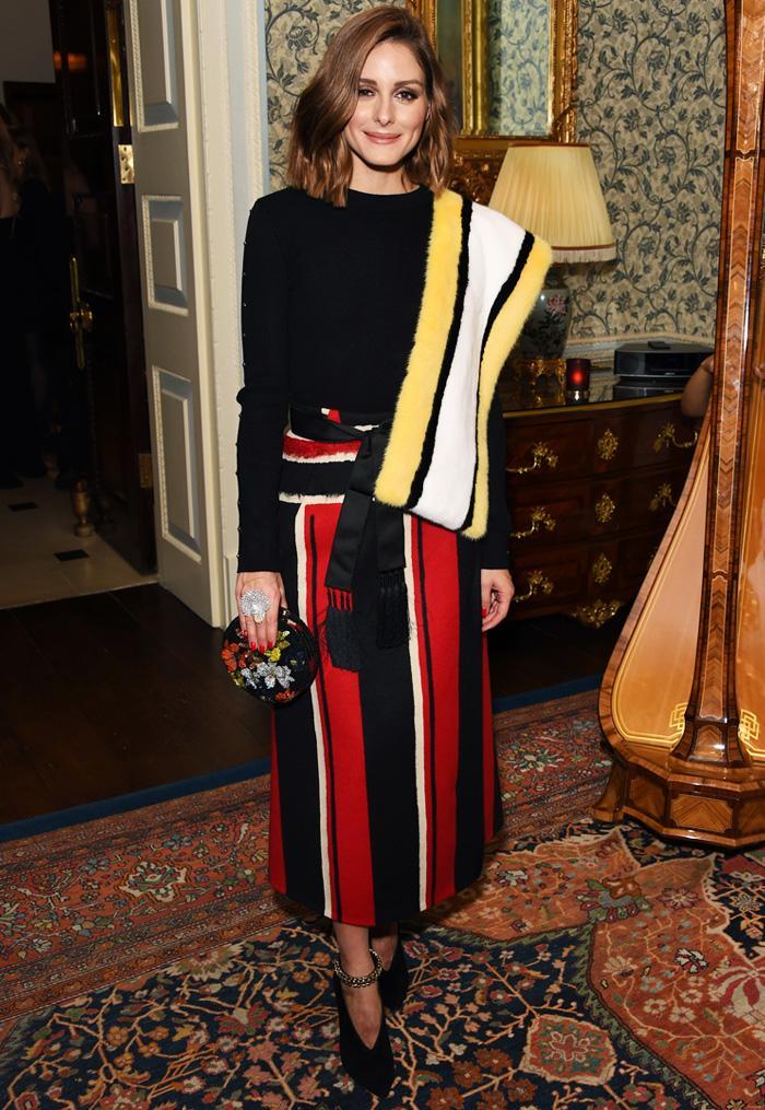 Olivia Palermo stripe