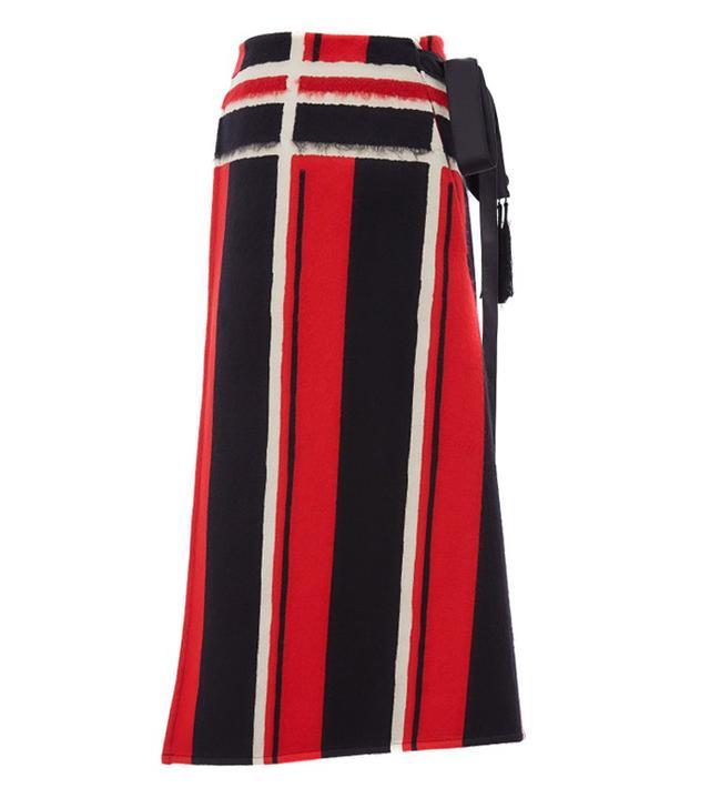 Amanda Wakeley Mohair Wrap Skirt