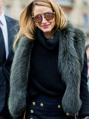 Prepare to Fall In Love With Olivia Palermo's £40 Zara Bag