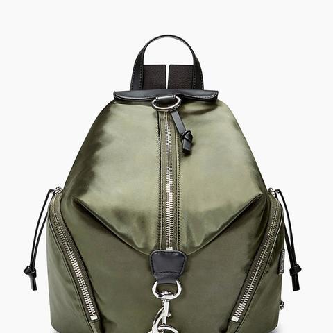 Julian Satin Nylon Backpack