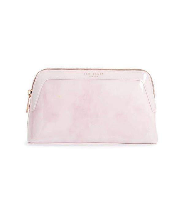 Zandra - Rose Quartz Cosmetics Bag