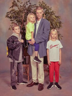 Balenciaga's New Campaign Just Recreated Your Awkward Family Photos