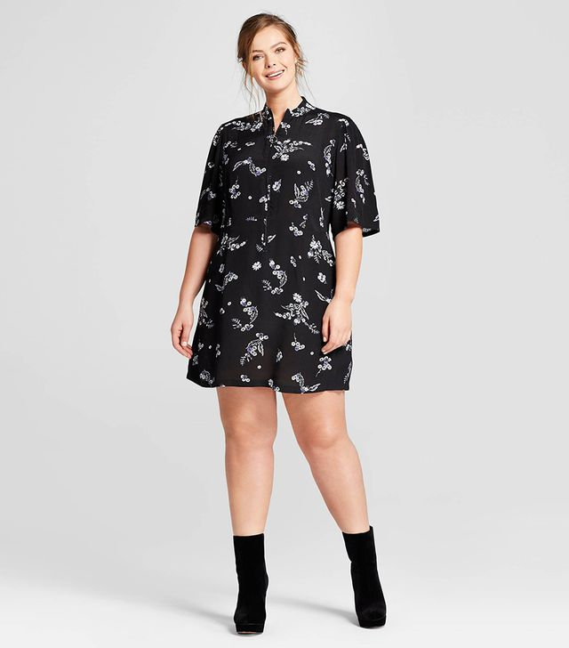 Shop The Who What Wear Flirty Mini Dress With O Ring Zip