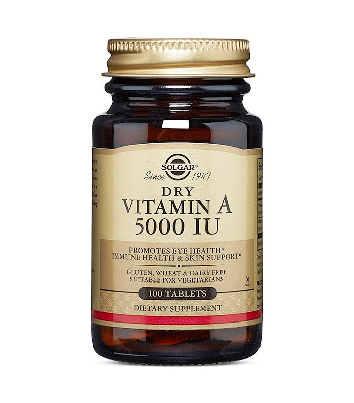 Dry Vitamin A 5000 IU by Solgar