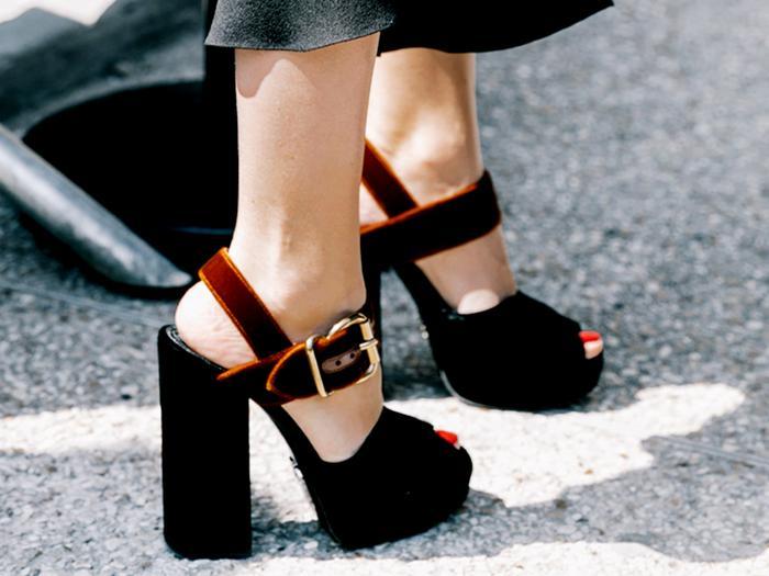 best shoes after 25 velvet platforms