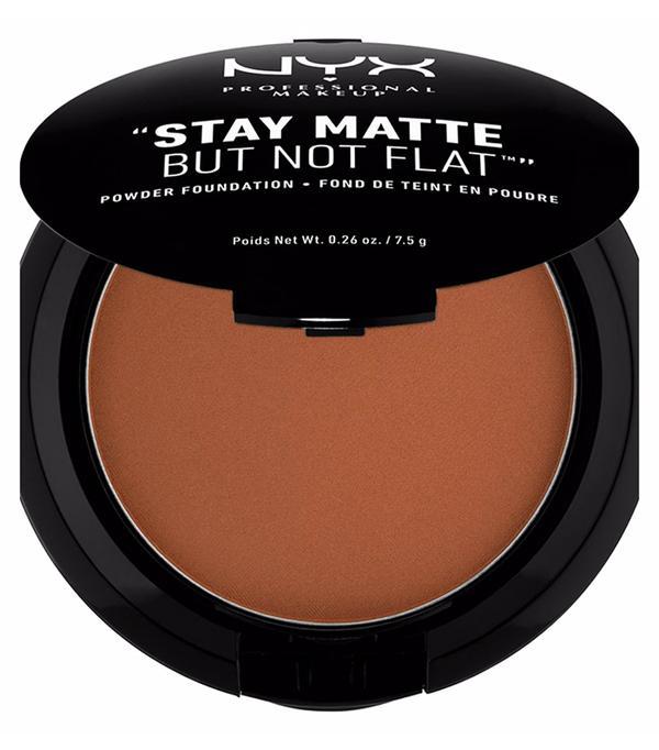 Best drugstore matte foundation: NYX Stay Matte Powder Foundation