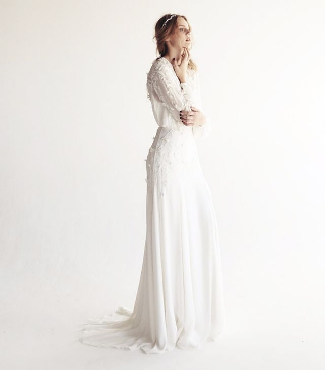 wedding dress 2017: Bo and Luca Angelica Gown