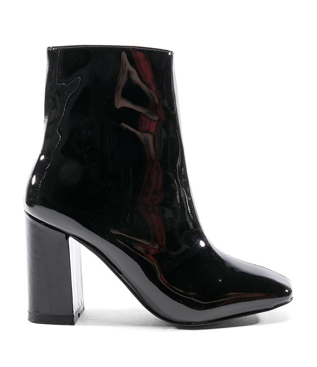 Blocked Bootie in Black. - size 39 (also in 36,37,38,40)