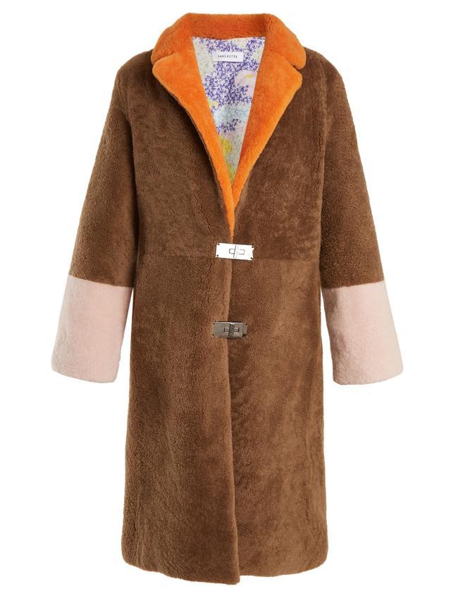 Tibetan-shearling coat
