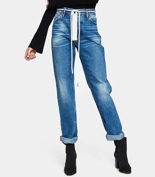 Zipped 5 Pocket Jean