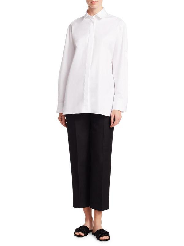 Juliette Button-Front Shirt