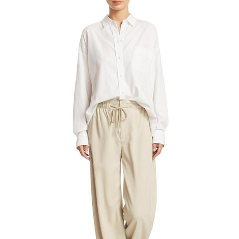 Single-Pocket Button-Down Shirt