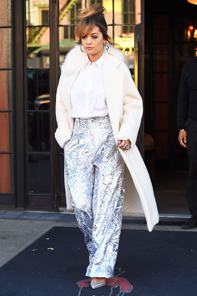 This Coat Trend Is Sweeping the Celebrity World