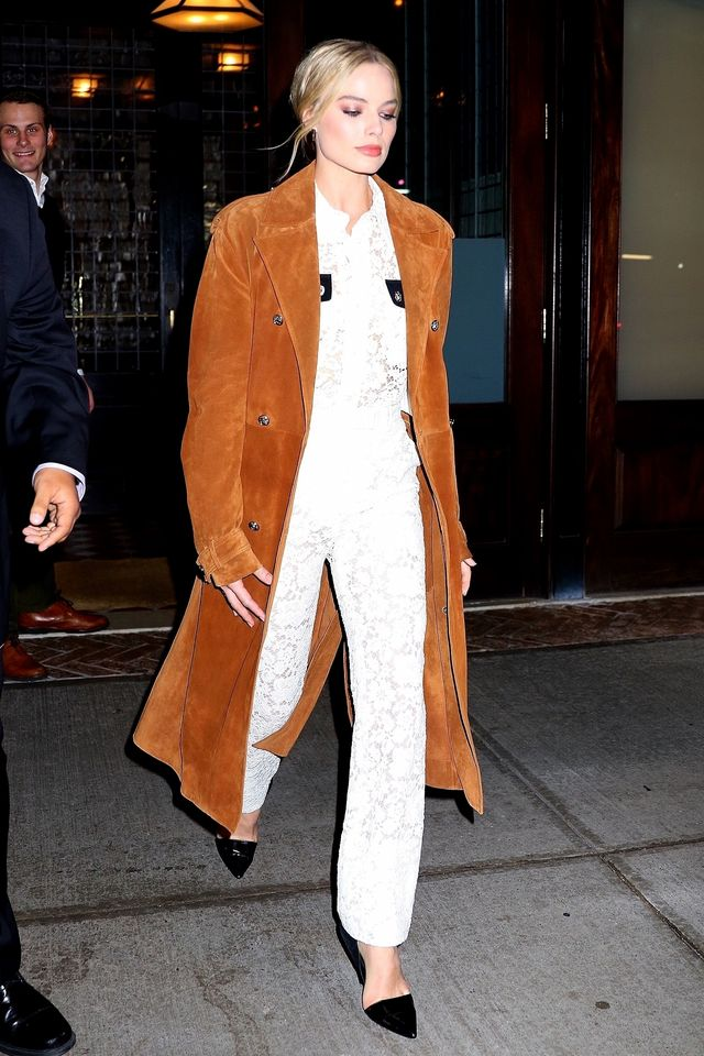 Margot Robbie wears boho style