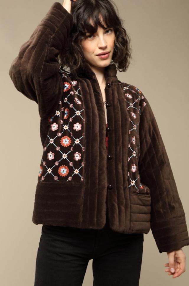 Rouje Augustine Velvet Jacket