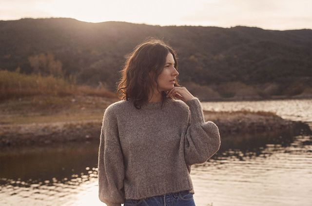 Christy Dawn The Jane Sweater in Gray