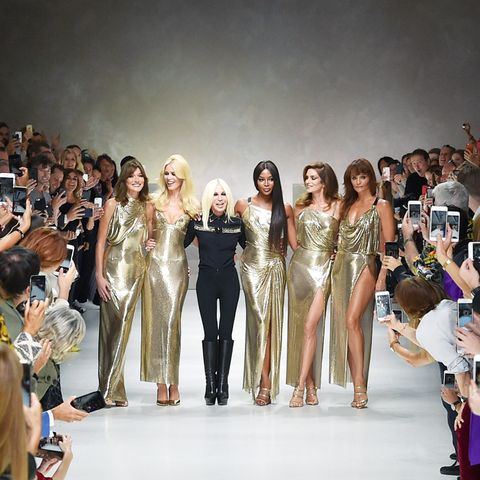 The 11 Big Fashion Instagram Moments of 2017: Donatella Versace