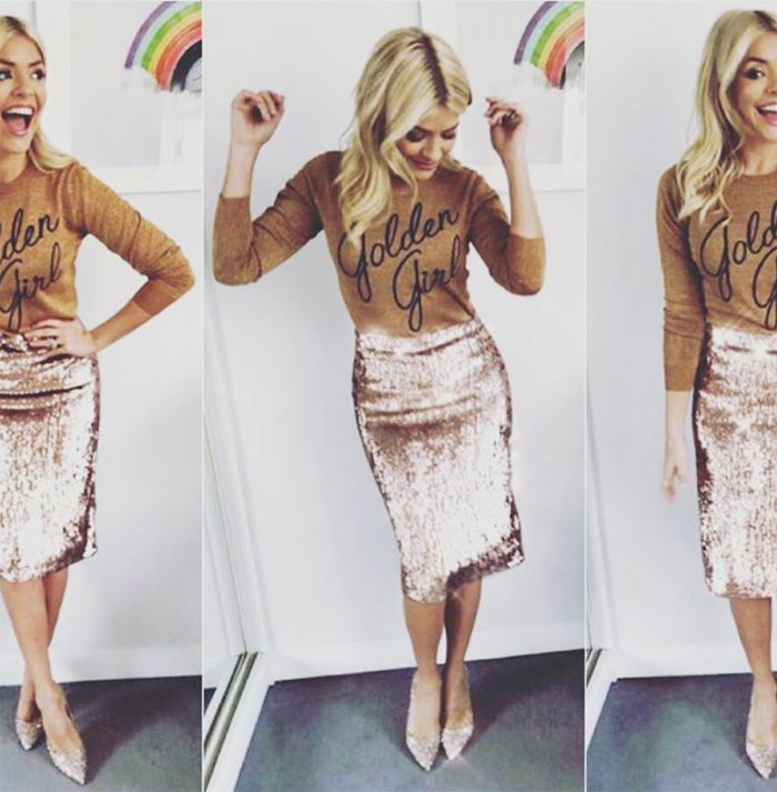 Holly Willoughby Christmas jumper
