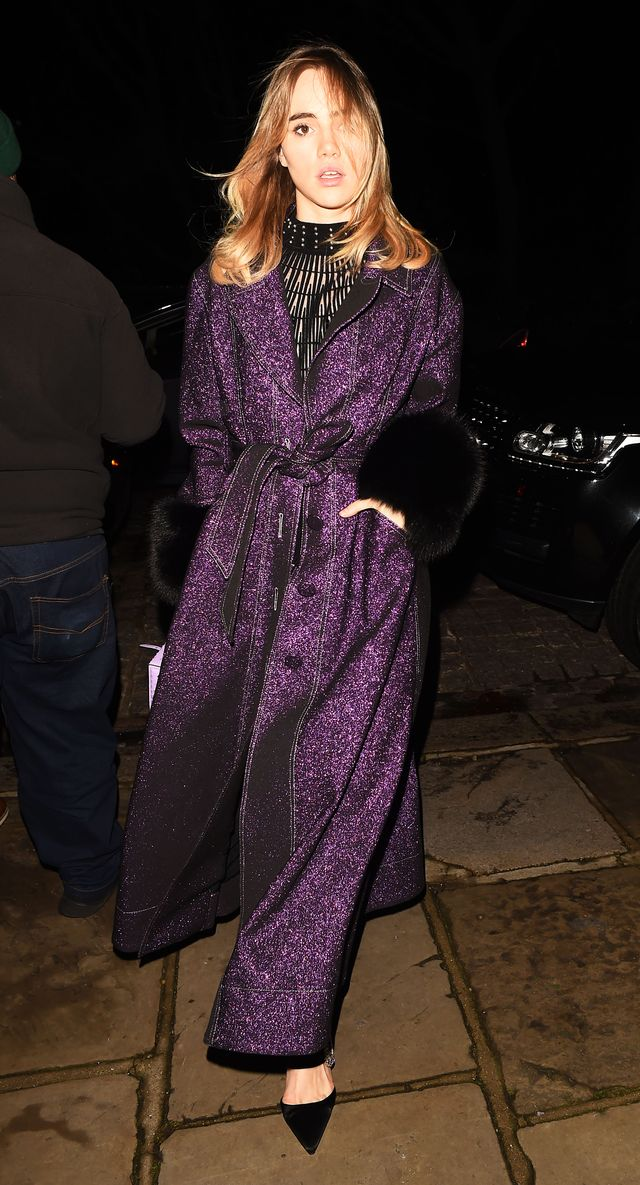 Suki Waterhouse Is Already Wearing the Color You'll See Everywhere in 2018