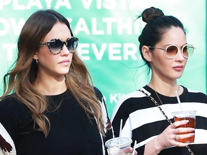 Jessica Alba and Olivia Munn Just Wore the Chicest Coordinating Outfits