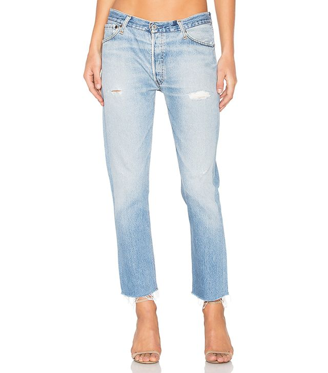 Re/Done Levis Relaxed Crop Jeans