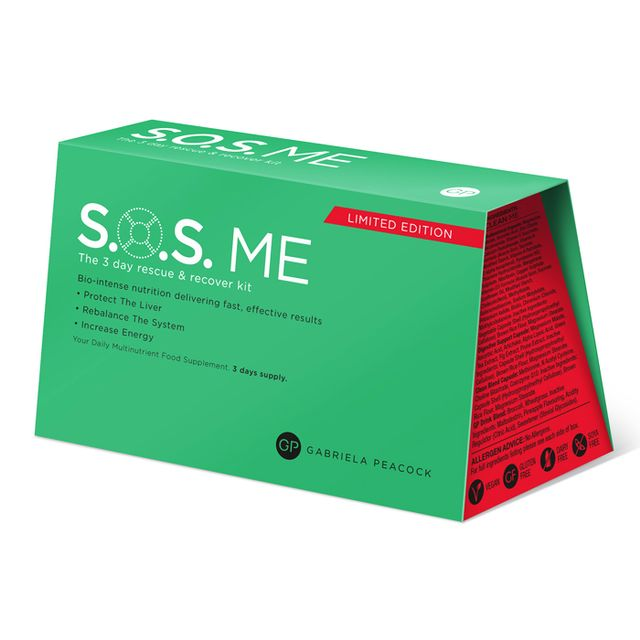 Hangover Cures: GP Nutrition SOS Me Supplement