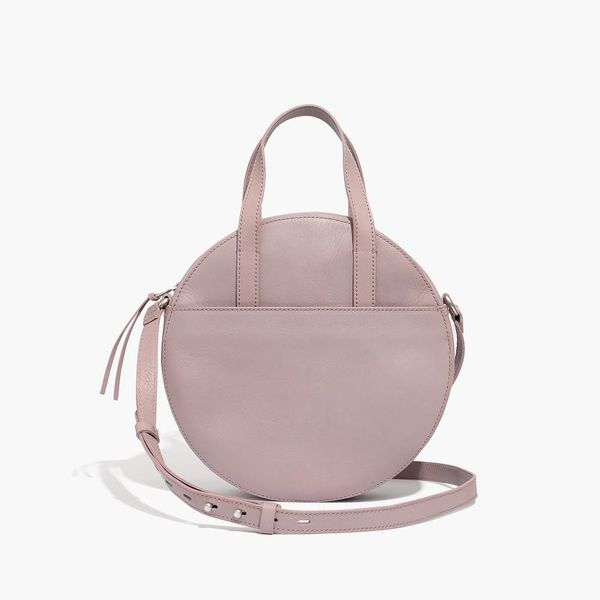 Madewell The Juno Circle Shoulder Bag in Violet Dusk