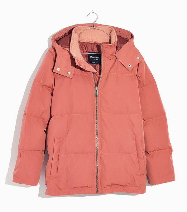 Madewell Quilted Down Puffer Parka