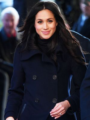 Meghan Markle Wore the Prettiest Sheer Dress to Lunch With the Queen