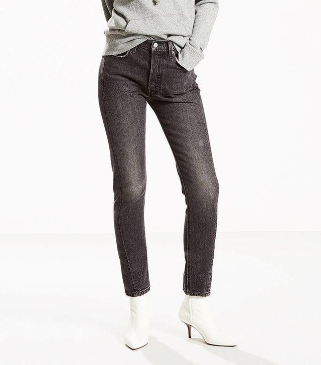 Levi's 501 Skinny Jeans in Read Em and Weep