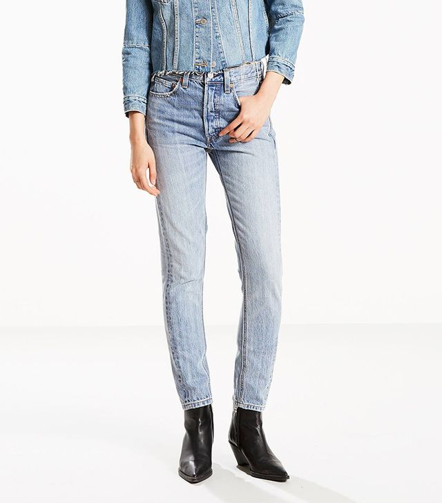 Levi's 501 Altered Skinny Jeans in Rough Edge