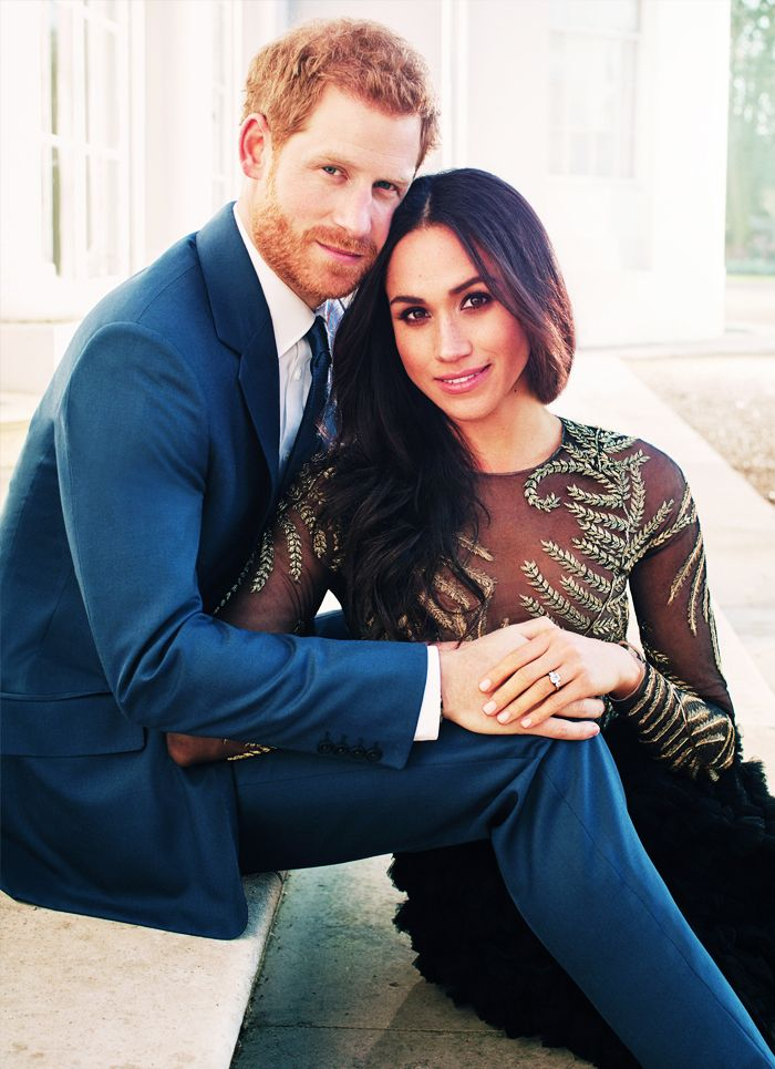 Meghan Markle and Prince Harry official engagement photograph:
