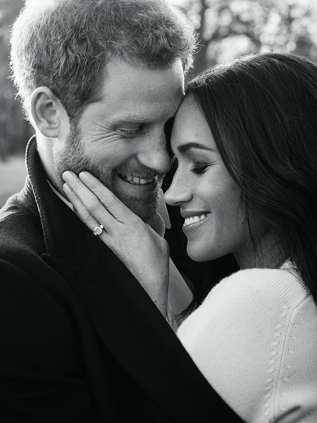Meghan Markle and Prince Harry official engagement portrait