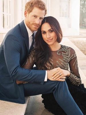 Prince Harry and Meghan Markle Just Released 3 Official Engagement Portraits