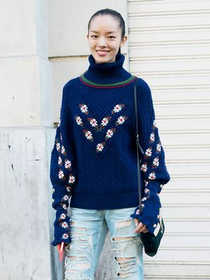The One Sweater Detail to Liven Up Your Winter Wardrobe