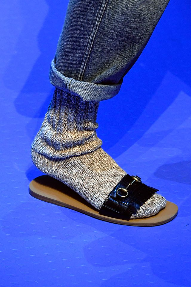 Socks and Sandals Spring 2018 Trend